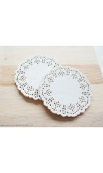 Mini - White Doilies