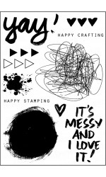 Happy Art Stamp Set