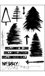 Sketchy Christmas Stamp Set
